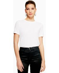 TOPSHOP - Oversized Boxy T-shirt - Lyst