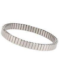 TOPSHOP - silver Ridge Stretch Bracelet - Lyst
