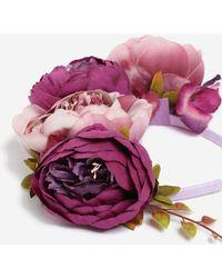 TOPSHOP - Bloom Bouquet Headband - Lyst