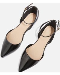 TOPSHOP - Annie Pointed Shoes - Lyst
