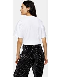 TOPSHOP Weekend T-shirt In White