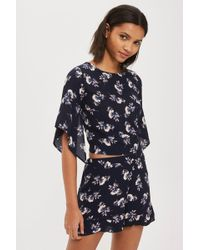 Oh My Love - Flower Print Shorts By - Lyst