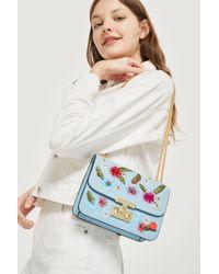 TOPSHOP - Chloe Floral Cross Body Bag - Lyst