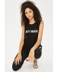 Ivy Park - Silicon Logo Tank Top By - Lyst