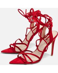 TOPSHOP - Royal Pointed Heels - Lyst