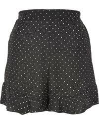 Oh My Love - Peplum Spot Print Shorts By - Lyst