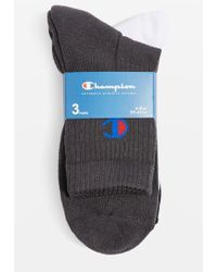 Champion 3 Pack Sheer Socks by - Multicolore