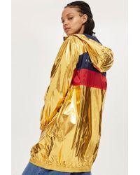 Fila - Zip Through Hooded Jacket By - Lyst