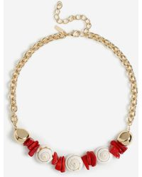 TOPSHOP - Chipping Shell Collar - Lyst