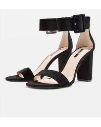 TOPSHOP - Rosie Two Part Sandals - Lyst