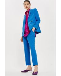 TOPSHOP - Cigarette Suit Trousers - Lyst