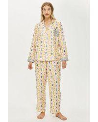 TOPSHOP - Key To Freedom Star Pyjama Trousers - Lyst