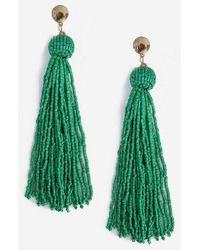 TOPSHOP - Tassel Seedbead Drop Earrings - Lyst