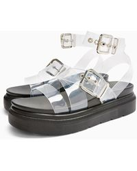 TOPSHOP Prime Chunky Sandals - Multicolor
