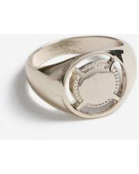 TOPSHOP - Cut Out Signet Ring - Lyst