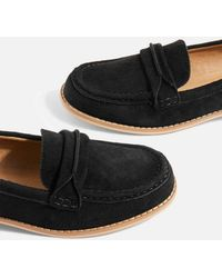 TOPSHOP - Slip On Loafers - Lyst