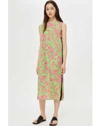 TOPSHOP - daisy Knot Front Dress By Boutique - Lyst