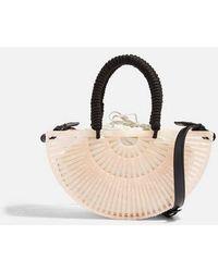 TOPSHOP - Crete Acrylic Grab Bag - Lyst