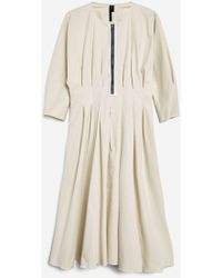 TOPSHOP - Pleated Waist Dress By Boutique - Lyst