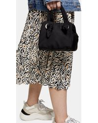TOPSHOP Gigi Black Knot Cube Grab Bag