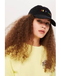 TOPSHOP - Je T'aime Embroidered Cap - Lyst