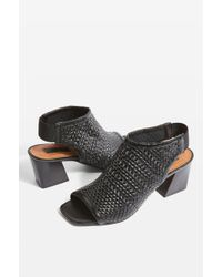 TOPSHOP - Nifty Woven Sandals - Lyst