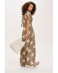 TOPSHOP - Floral Maxi Dress By Flynn Skye - Lyst