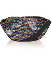 Jaded London - Rainbow Sequin Festival Bum Bag By - Lyst