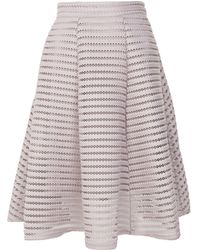 TFNC London - Structured Midi Skirt By - Lyst
