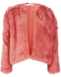 Oh My Love - Faux Fur Jacket By - Lyst