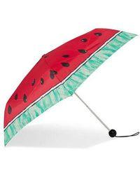TOPSHOP Watermelon Umbrella - Pink
