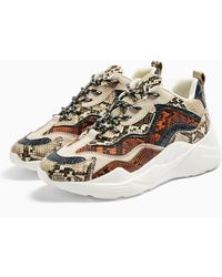 TOPSHOP Cancun Chunky Sneakers - Multicolor