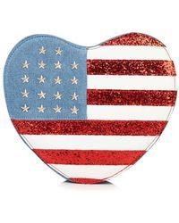 Skinnydip London - Usa Heart Crossbody Bag By Skinnydip - Lyst