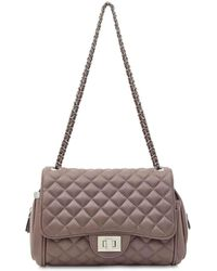 Marc B. - Quilted Nude Cross Body Bag By - Lyst