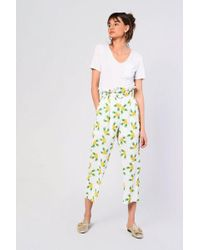 Glamorous - pineapple Belted Trousers By - Lyst
