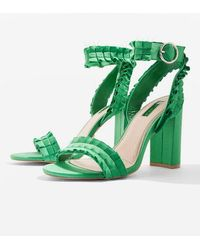 TOPSHOP - wide Fit Ruby Sandals - Lyst