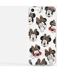 Skinnydip London disney X Skinnydip Minnie Iphone 6/6s/7 And 8 Case By Skinnydip - Multicolor