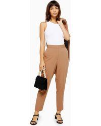 TOPSHOP - Suit Trousers - Lyst