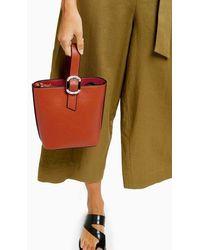 TOPSHOP - Tilttote Bag With Buckle - Lyst
