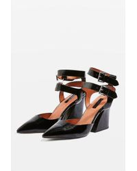 TOPSHOP - Gamma Court Shoes - Lyst