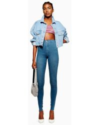 TOPSHOP - Tall Authentic Joni Jeans - Lyst