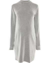 TOPSHOP | Maternity Striped Jumper Dress | Lyst