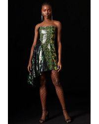 TOPSHOP - sequin Asymmetric Dress By X Halpern - Lyst