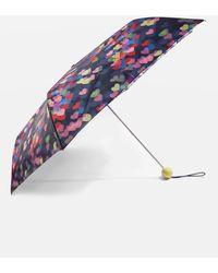 TOPSHOP   Blurred Heart Print Umbrella   Lyst