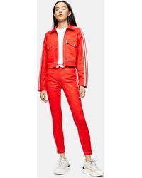 adidas X Fiorucci Trainingshose mit Audruck - Rot