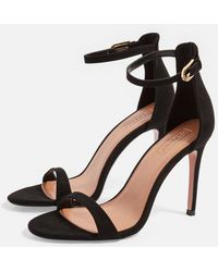 TOPSHOP - Wide Fit Susie Two Part Sandals - Lyst