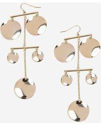 TOPSHOP - Petal Drop Earrings - Lyst