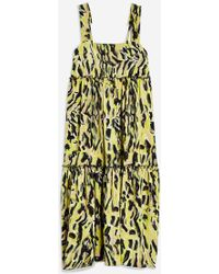 TOPSHOP - Citrus Pinafore Dress By Boutique - Lyst