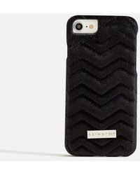 Skinnydip London - black Velvet Case - Lyst