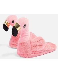 TOPSHOP - Flamingo Slippers - Lyst